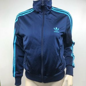 Adidas Blue Track Jacket Size M